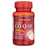 Puritan's Pride Koenzym Q10 200 mg - 30 kapsułek