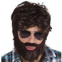 PERUKA męska DUDE alan z KAC VEGAS broda wąsy