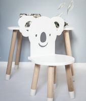 Krzesło krzesełko miś koala dla dzieci