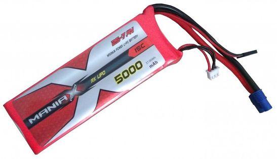 5000Mah 7.4V 20C Maniax - Nadajnikowo-Odbiornikowy
