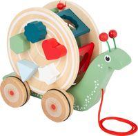 SMALL FOOT Zabawka do raczkowania z sorterem - Ślimaczek