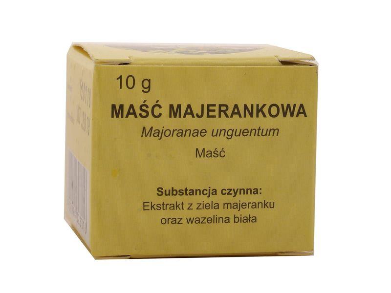 Maść majerankowa - Elissa - 10 g zdjęcie 1