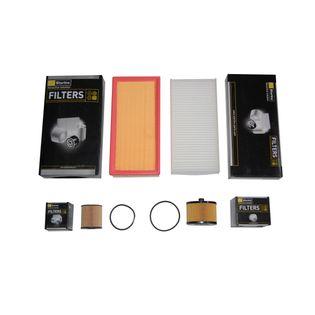 Filtry zestaw PEUGEOT 407 2.0 HDi Citroen C5 II