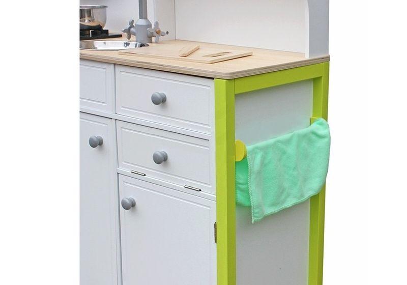 Drewniana Kuchnia Dla Dzieci Zielono Biala Arena Pl