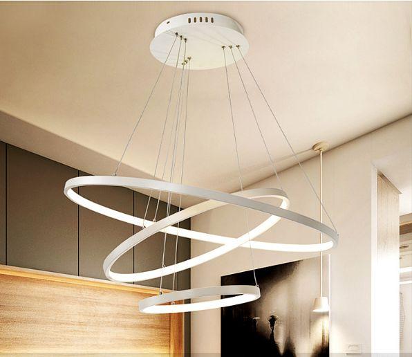 Lampa Wisząca Ring Okrąg żyrandol 6080100 Cm Led Silva V