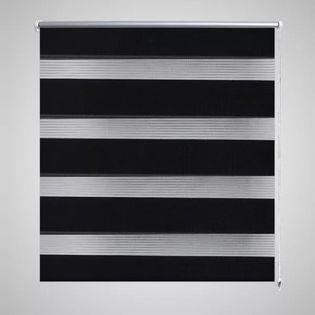 Roleta Zebra (80 x 175 cm) Czarny
