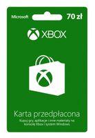 Karta przedpłacona Xbox Live 70 zł