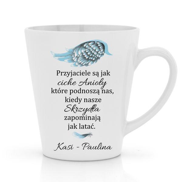 Kubek z PERSONALIZACJĄ na PREZENT dla PRZYJACIÓŁKI na Arena.pl