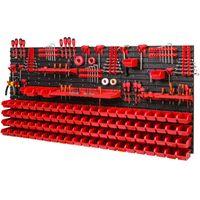 Tablica ścianka narzędziowa do garażu + 94 kuwety PRO-MIX35