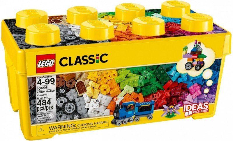 Klocki Classic Kreatywne klocki średnie pudełko zdjęcie 1