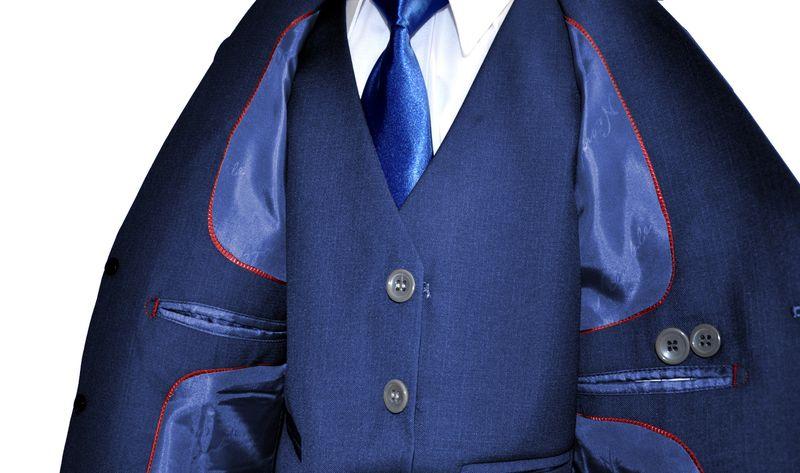 Garnitur chłopięcy + koszula krawat 134/140 zdjęcie 4