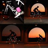 Wheel Flash Odblaskowe Naklejki Na Koła 8Szt zdjęcie 5
