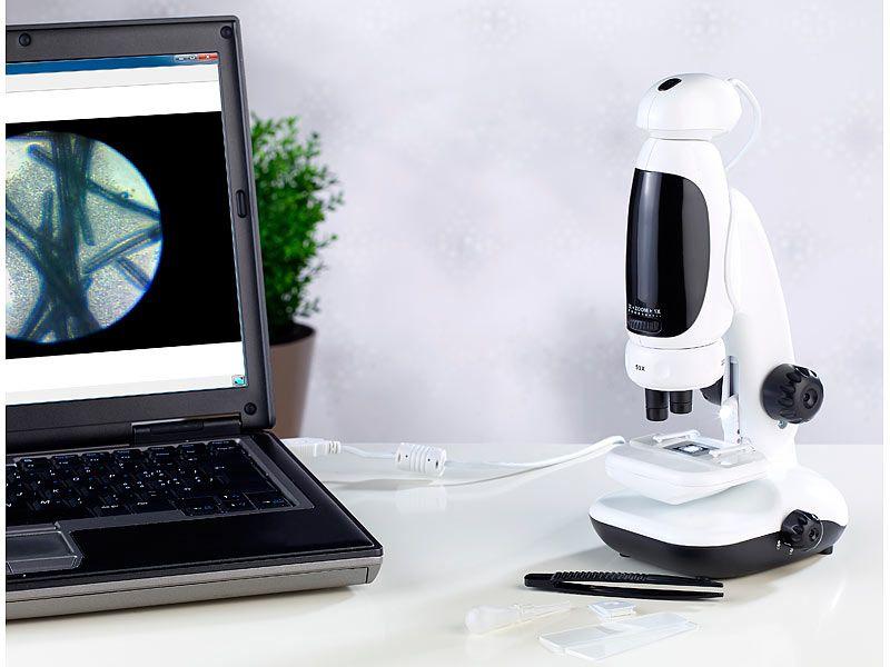 Mikroskop cyfrowy 3w1 1,3 MP, 400X, USB zdjęcie 5