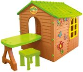Mochtoys 11045 Domek ogrodowy dla dzieci ze stolikiem i krzesełkiem