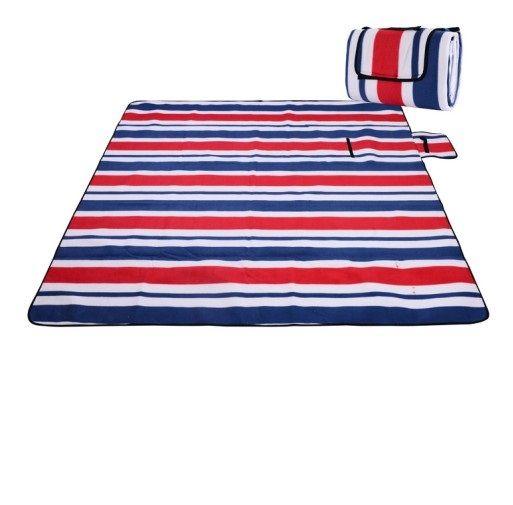 Koc piknikowy plażowy z izolacją mata duży 200x200 zdjęcie 1