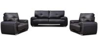 Sofa TOFFINO, trzyosobowa. Wybór tkanin i kolorów.