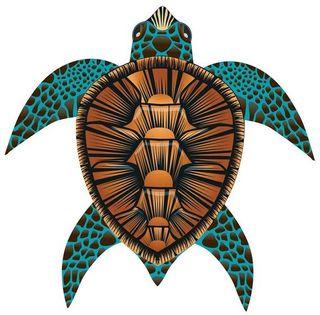 "Latawiec BRAINSTORM - WNS SeaLife 40x40"" Nylon Sea Turtle"