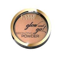 Glow And Go! Bronzing Powder puder brązujący w kamieniu 02 Jamaica Bay 8.5g