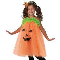 strój DYNIA sukienka dla dzieci DUCH tiulowa uniw