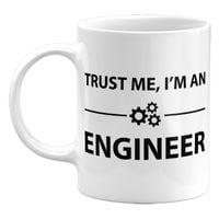 Kubek Trust me, I'm an Engineer,  Prezent dla Inżyniera, 330ml