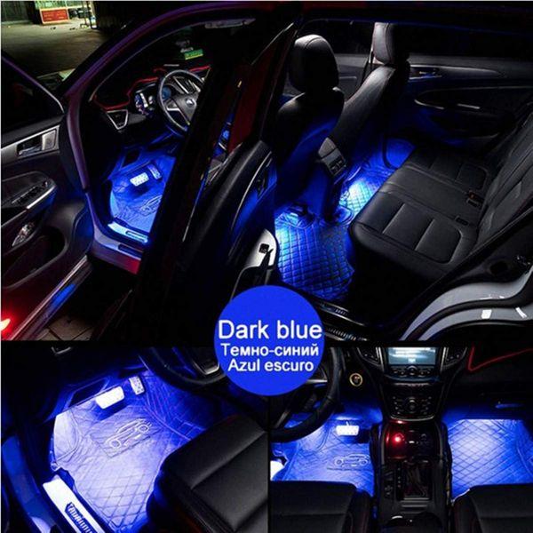 Oświetlenie Wnętrza Auta Kabiny Rgb Samochodu Led