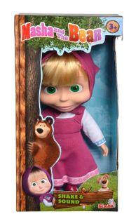 Simba: Masza i Niedźwiedź - Lalka chichocząca 30 cm.