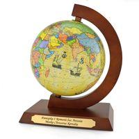 GLOBUS prezent na URODZINY dla dziecka GRAWER MAPA