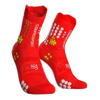 Skarpety trailowe COMPRESSPORT PRO RACING SOCKS TRAIL V3.0 - czerwony T1