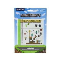Magnesy na lodówkę Build a Level Minecraft