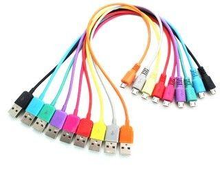 4world Kabel USB 2.0 MICRO 5pin, AM / B MICRO transfer/ładowanie 1.0m czerwony zdjęcie 1