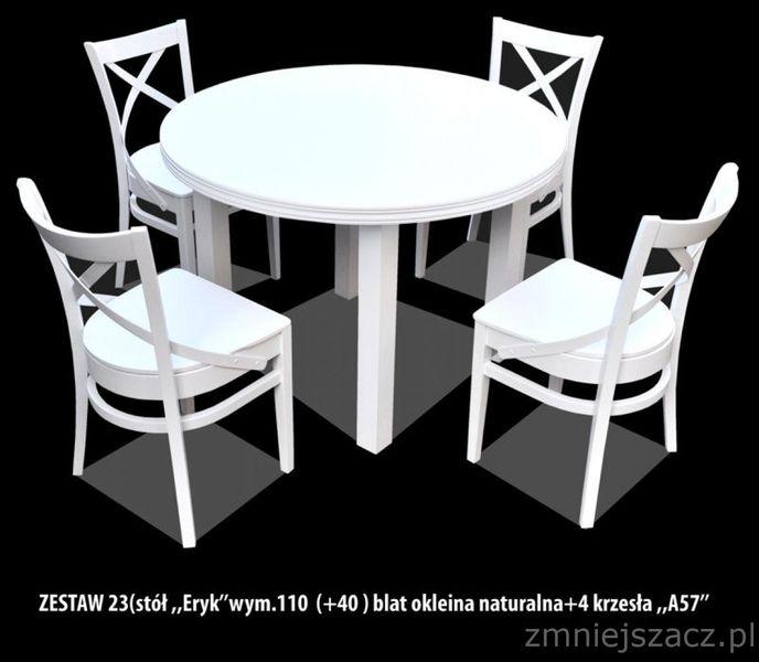 Okrągły Stół Rozkładany Eryk Stylowy Najtaniej