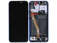 100% Oryg Nowy Przód z LCD i bater P Smart Plus kolor Purple