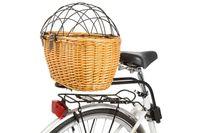 Koszyk rowerowy do przewozu zwierząt wiklinowy M-Wave z klipsem