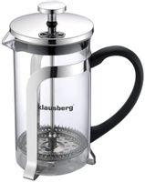 Klausberg zaparzacz do kawy/herbaty z dociskiem 1000ml kb-7154