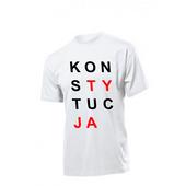 Koszulka koszulki z nadrukiem KONSTYTUCJA zdjęcie 2