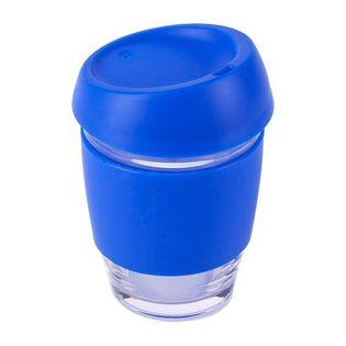 Szklany kubek Stylish 350 ml, niebieski