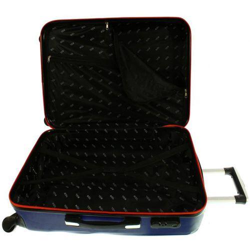 Średnia walizka PELLUCCI RGL 663 M Czerwona na Arena.pl