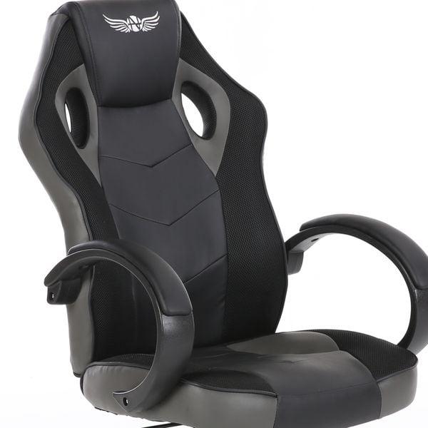 Obrotowy fotel gamingowy NORDHOLD - ULLR gracz - szary/gray zdjęcie 4