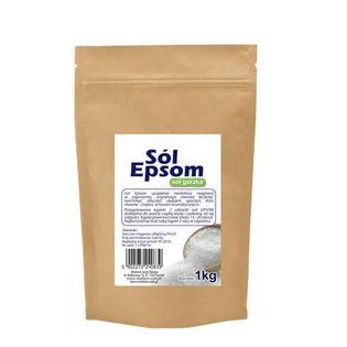 Sól epsom (siarczan magnezu) 1kg VitaFarm