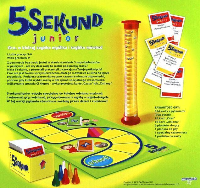 TREFL Gra 5 sekund Junior 2.0 Edycja specjalna zdjęcie 3