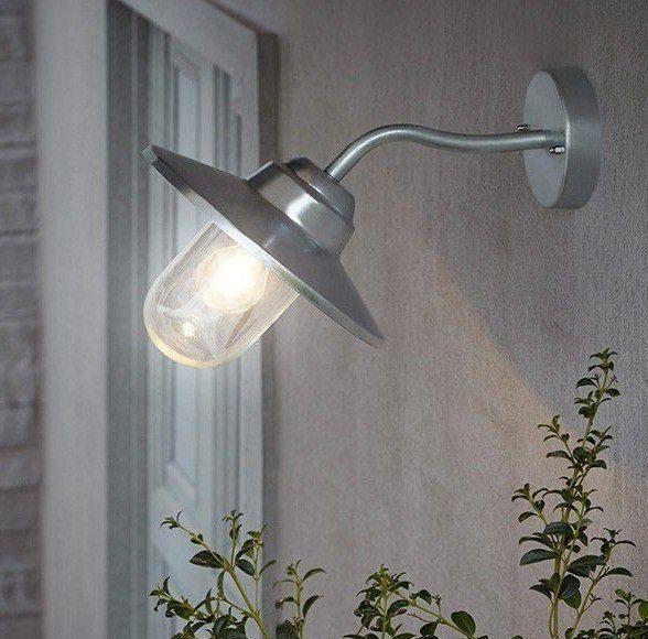Lampa ogrodowa latarnia MARINE STEL kinkiet IP44 fr1 zdjęcie 4