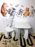 Stolik stoliczek standardowy 45 x 45 cm dla dzieci