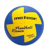 Piłka ręczna Meteor nu Age damska 2 niebiesko żółta 4066