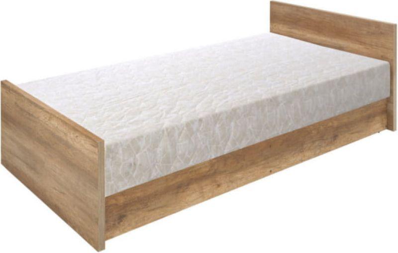 łóżko 90x200cm Młodzieżowe Malcolm Black Red White