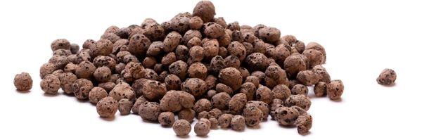 Podłoże Dla Roślin Hydroponika Keramzyt Granulat Ceramiczny 1-4 mm 50L