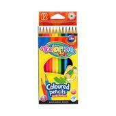 Kredki ołówkowe 12 kolorów Colorino 14687PTR