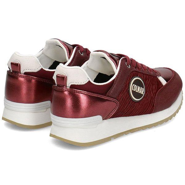 Colmar - Sneakersy Damskie - TRAVIS ACT 126 BURGUNDY 37 zdjęcie 2