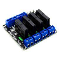 Moduł przekaźników SSR 4 kanały 5V High trig dla Arduino STM32