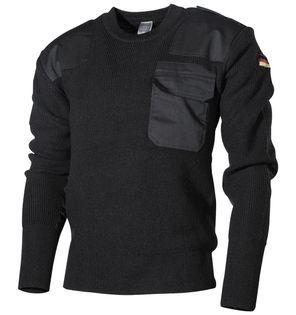 Sweter wojskowy BW czarny