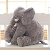 Duży słoń pluszowy 60cm SŁONIK maskotka pluszak Y11 zdjęcie 6